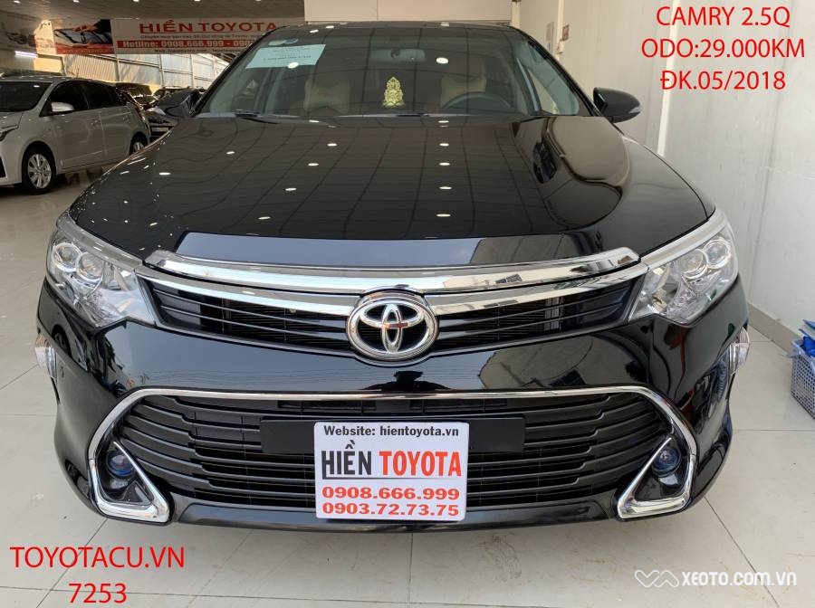 Toyota Camry 2.5Q 2018 AT - ID: 1766
