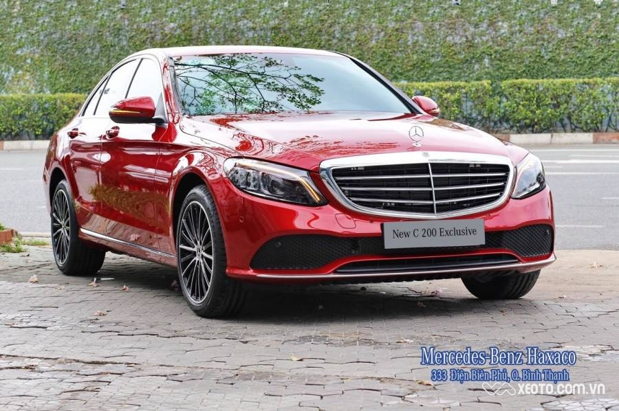 Mercedes-Benz C200 Exclusive 2.0L 2020 AT