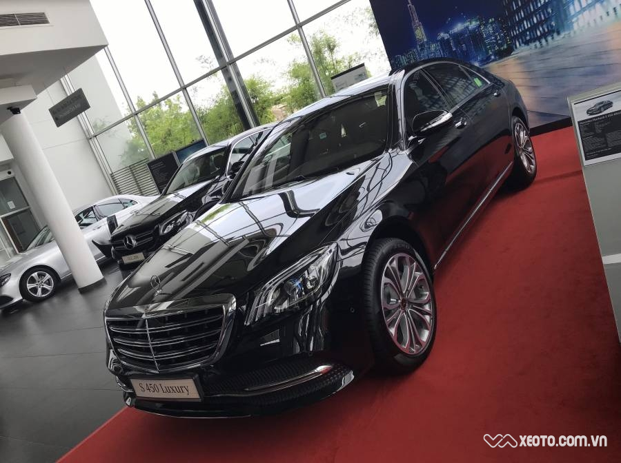 Mercedes-Benz S450 S450L Luxury 3.0L 2020 AT