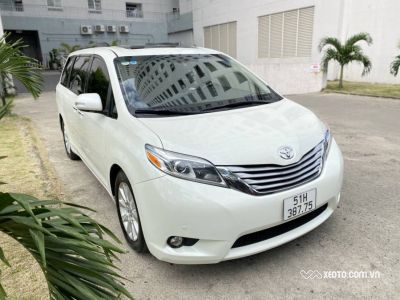 Toyota Sienna 3.5 Limited 2015 AT